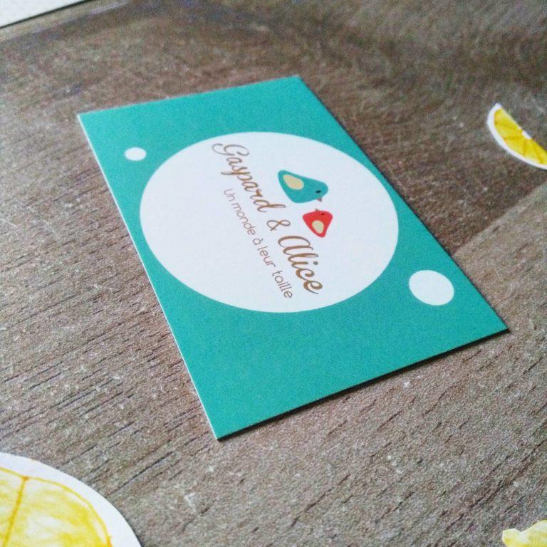 Création de cartes