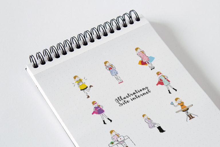 création de logo et illustrations