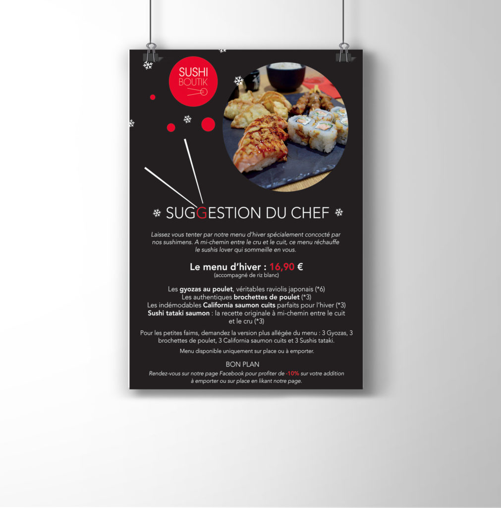 Création de flyer restaurant