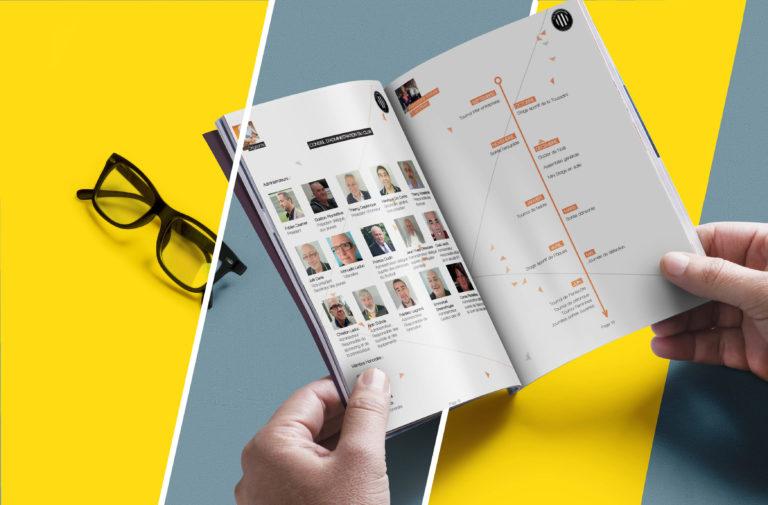 création de magazine