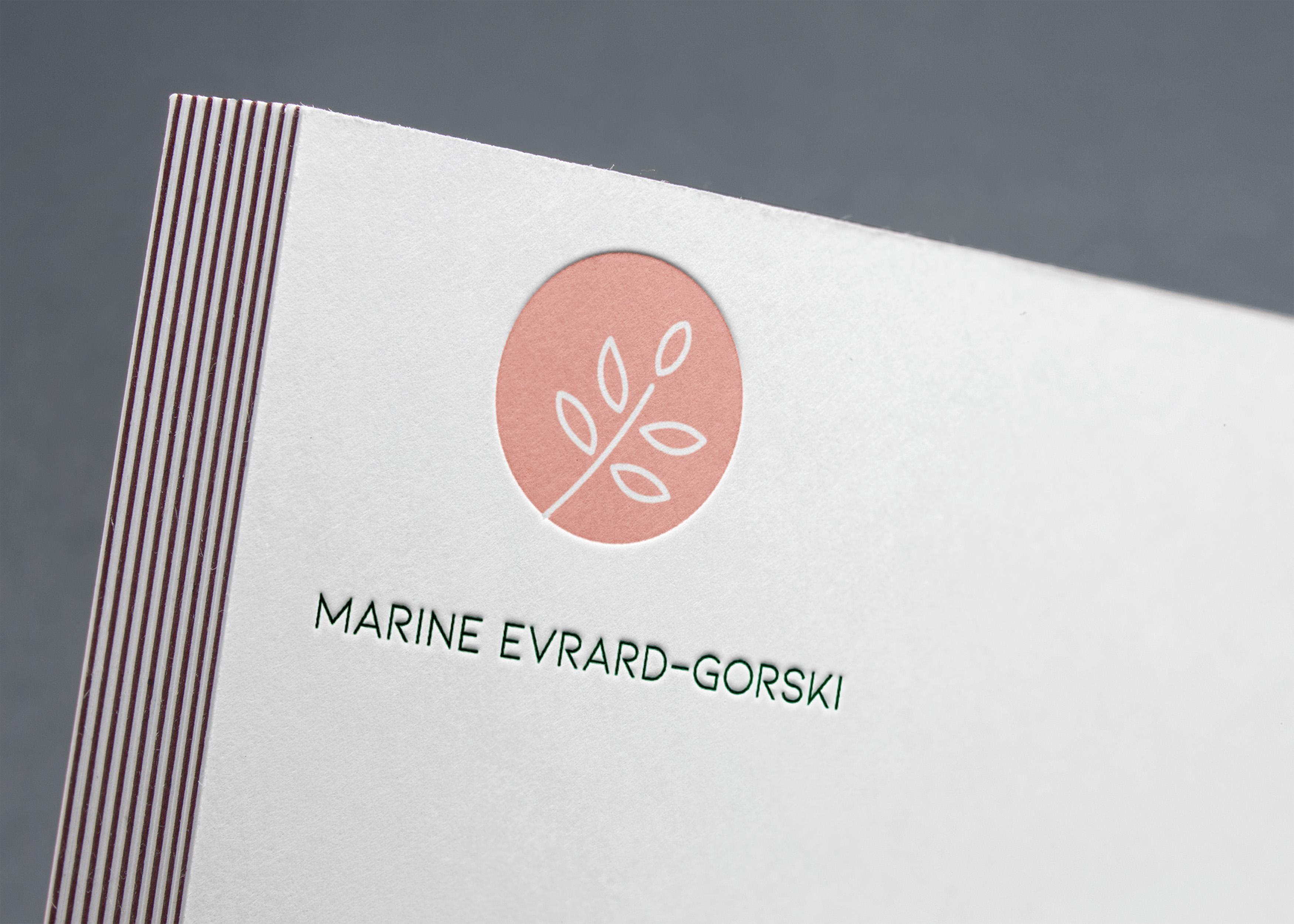 Création de logo pour sophrologue
