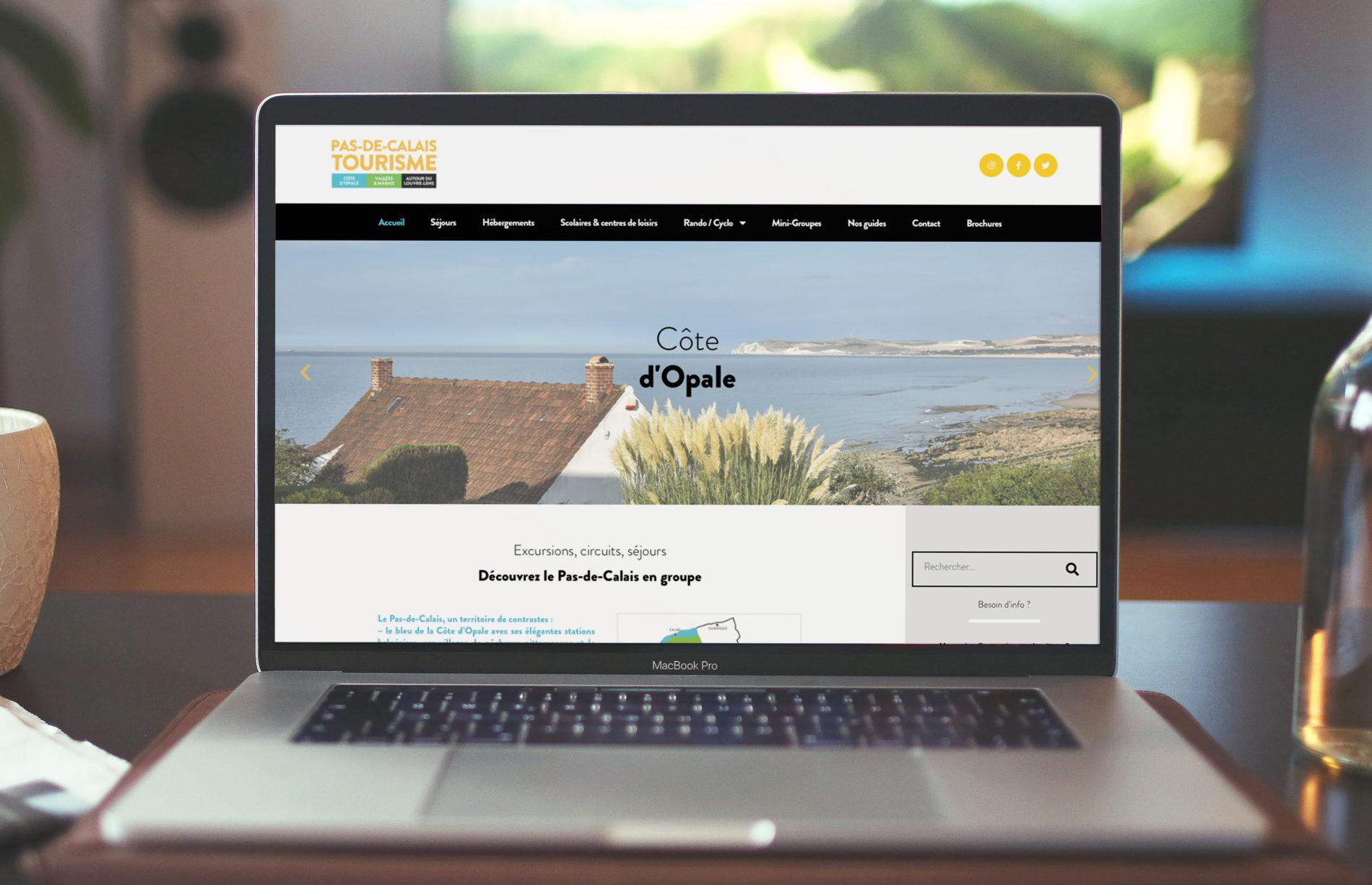 Création d'un site internet dans le tourisme
