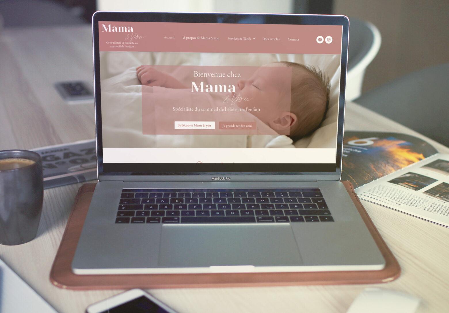 création de site mamaandyou