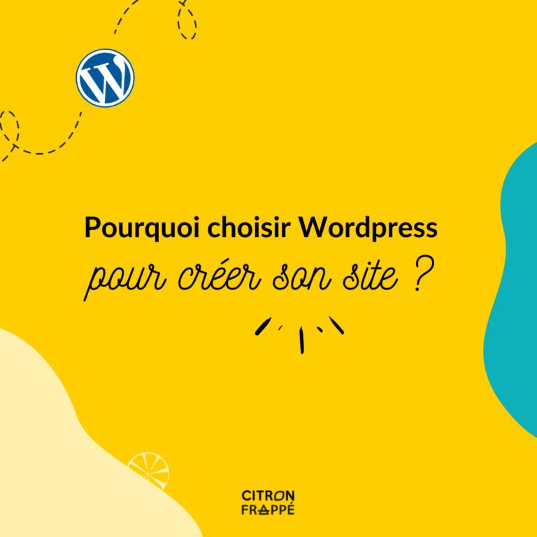 Read more about the article Pourquoi choisir wordpress pour créer son site internet ?